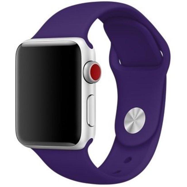 Apple watch banda sportiva - viola
