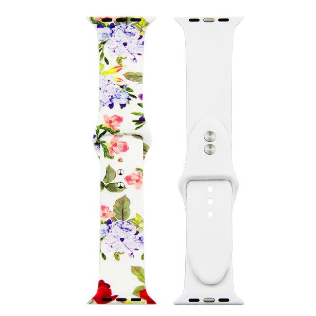 Apple watch stampa banda sportiva - fiori