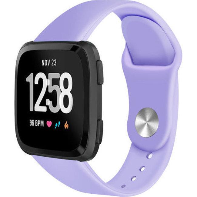 Fitbit versa cinturino in silicone - chiaro viola