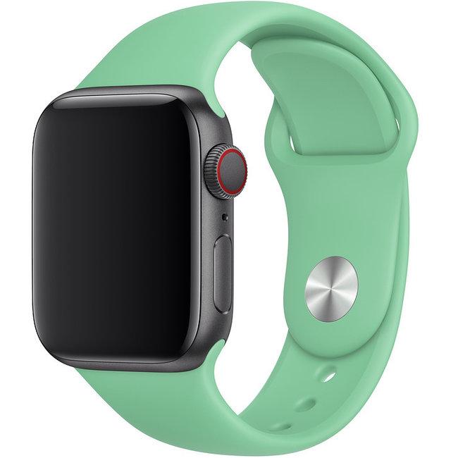 Apple watch banda sportiva - menta verde