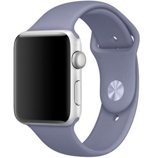 Apple watch banda sportiva - lavanda grigio
