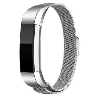 Marca 123watches Fitbit Alta banda milanese - argento