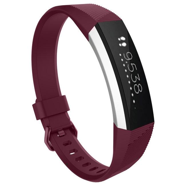 Fitbit Alta banda sportiva - rosa rosso