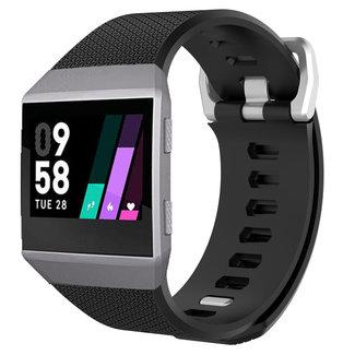 Marca 123watches Fitbit Ionic banda sportiva - nero