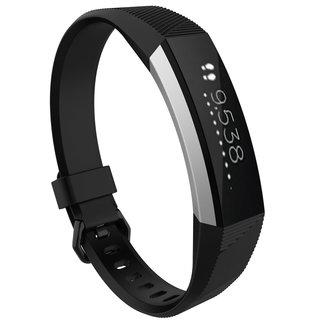 Marca 123watches Fitbit Alta banda sportiva - nero