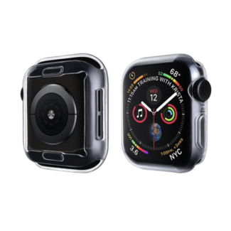 Marca 123watches Custodia morbida sottile per Apple Watch - trasparente