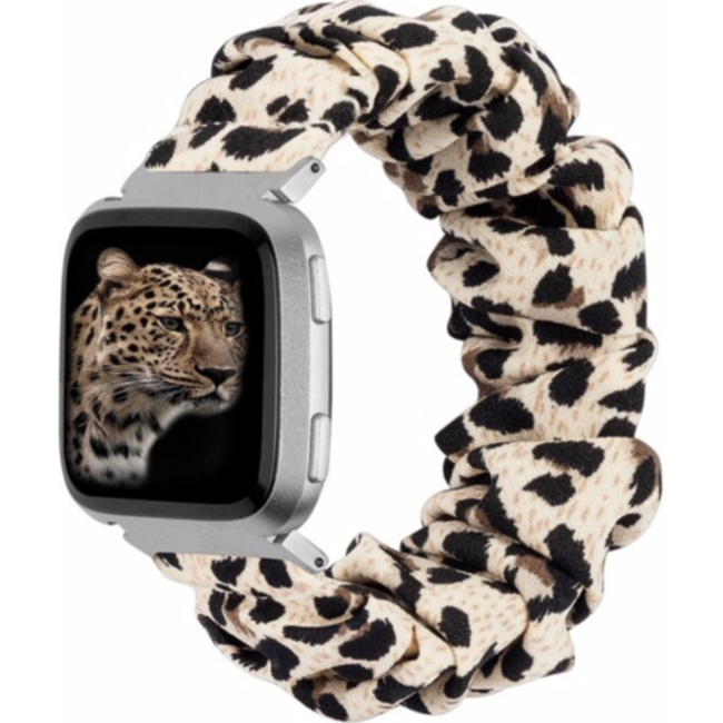 Fitbit Versa band scrunchie - pantera