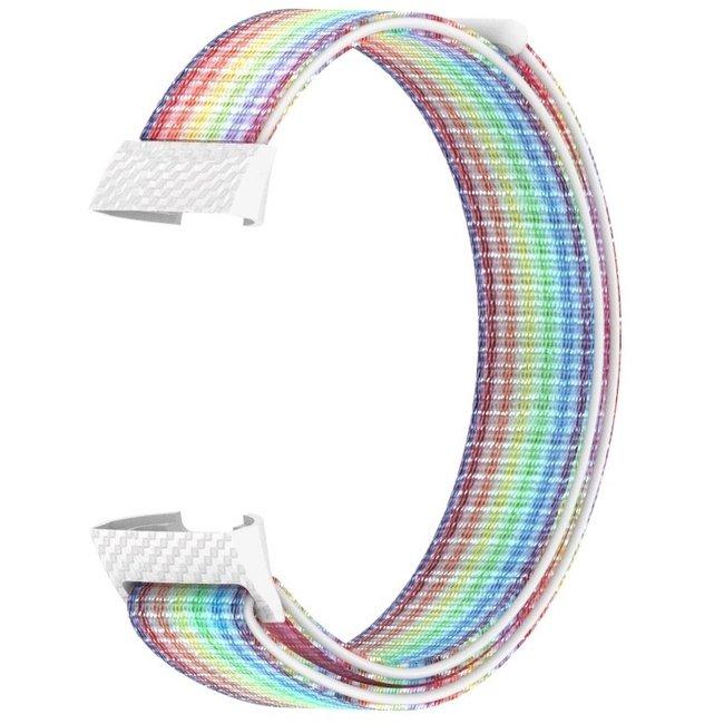 Fitbit charge 3 & 4 nylon banda sportiva - colorato