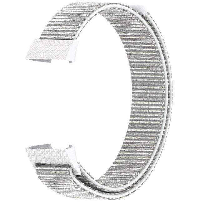 Fitbit charge 3 & 4 nylon banda sportiva - conchiglia