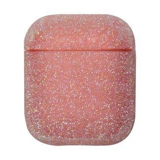 Marca 123watches Custodia rigida glitterata Apple AirPods 1 & 2 - rosa