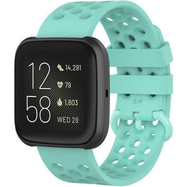 Fitbit Versa banda sport point - chiaroblu