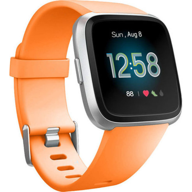 Fitbit versa banda sportiva - arancione
