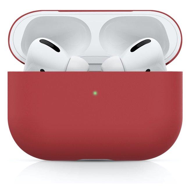 Custodia morbida semplice Apple AirPods PRO - rosso