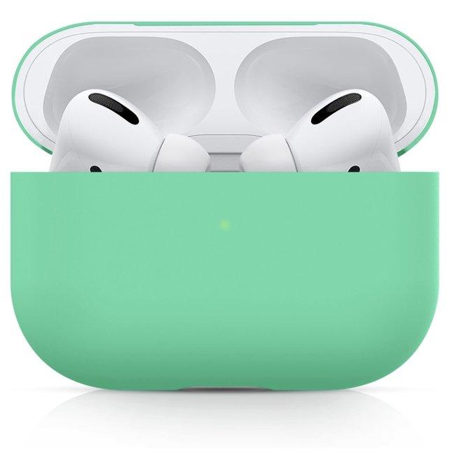 Custodia morbida semplice Apple AirPods PRO - verde
