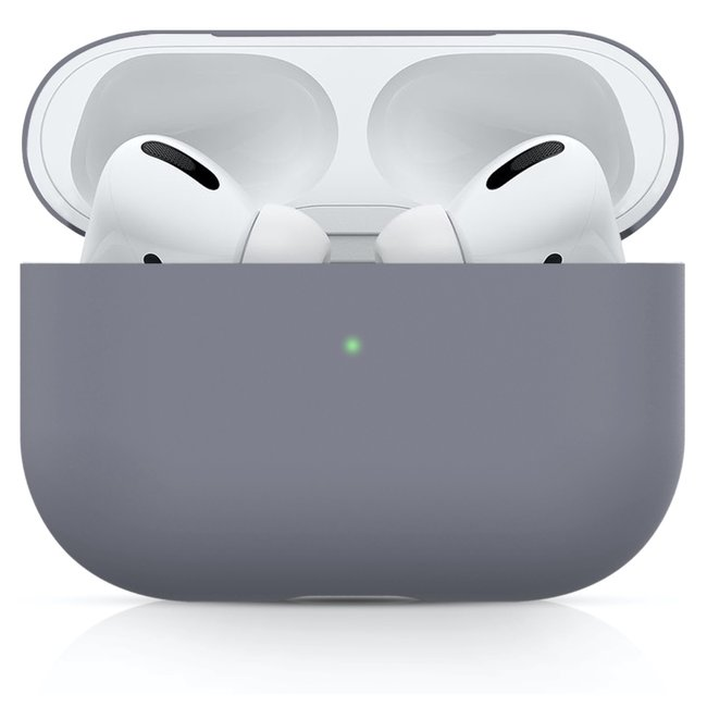 Custodia morbida semplice Apple AirPods PRO - blu horizon