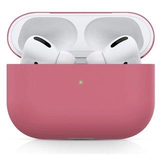 Marca 123watches Custodia morbida semplice Apple AirPods PRO - rosa rosso