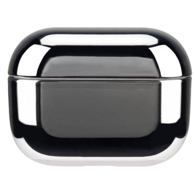 Custodia rigida metallica Apple AirPods PRO - argento