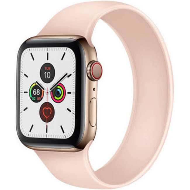 Apple watch sport solo tapis roulant - sabbia rosa