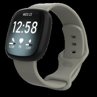 Fitbit Versa 3 / Sense banda sportiva - grigio