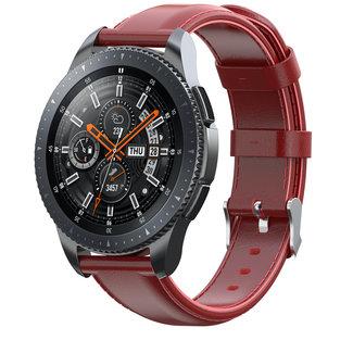 Samsung Galaxy Watch cinturino in pelle - rosso