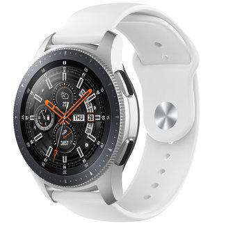 Marca 123watches Huawei watch GT cinturino in silicone - bianco