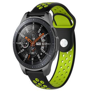 Marca 123watches Polar Vantage M / Grit X doppia fascia in silicone - nero verde