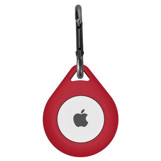 Marca 123watches AirTag silicone far cadere portachiavi - vino rosso