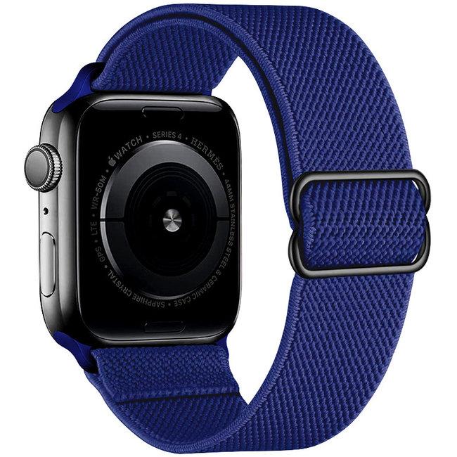 Apple watch tapis roulant solo in nylon - blu