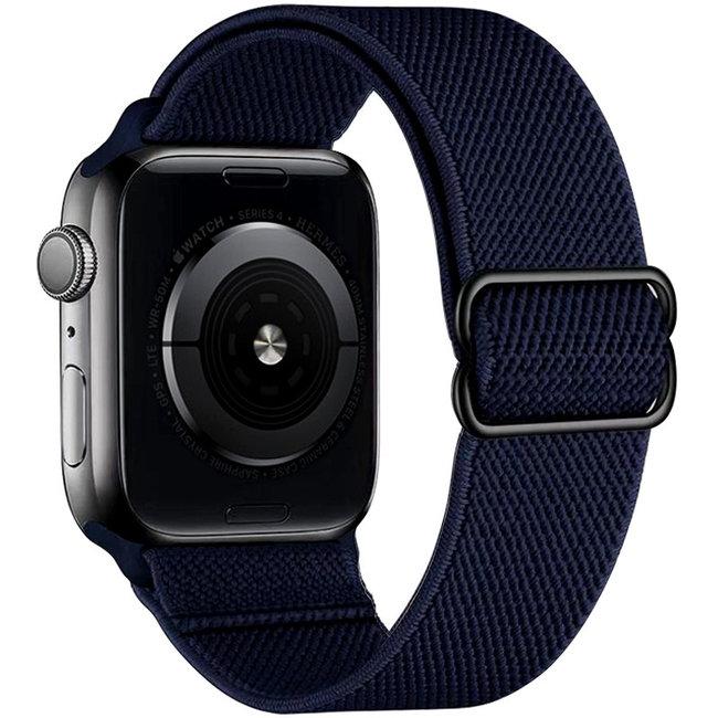 Apple watch tapis roulant solo in nylon - mezzanotte