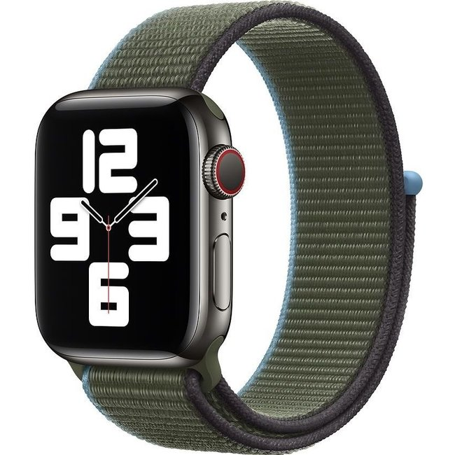 Apple watch tapis roulant sportivo in nylon - inverness verde