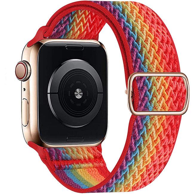 Apple watch cinturino solo in nylon - colorato