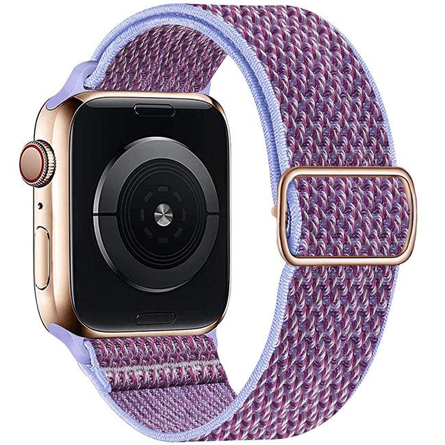 Apple watch cinturino solo in nylon - viola