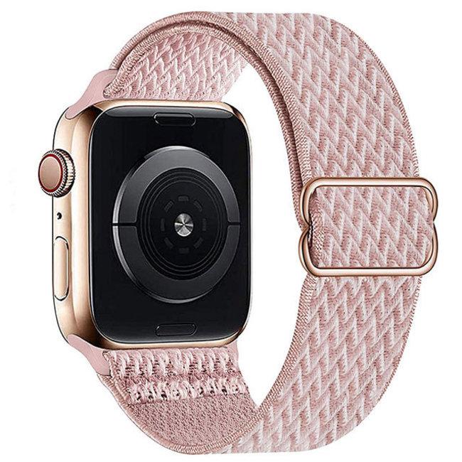 Apple watch cinturino solo in nylon - sabbia in polvere