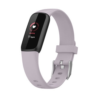 Marca 123watches Fitbit Luxe banda sportiva - lavanda