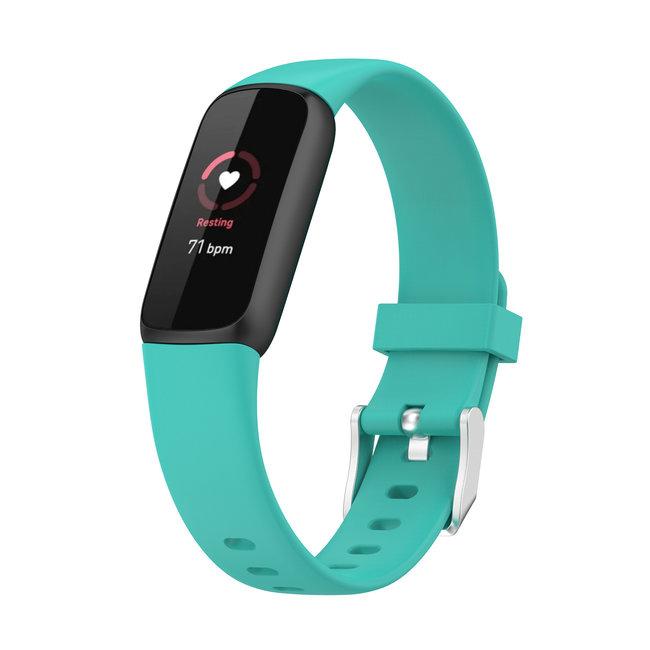 Fitbit Luxe banda sportiva - verde blu