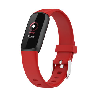 Marca 123watches Fitbit Luxe banda sportiva - rosso
