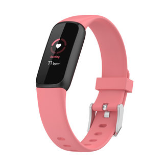 Marca 123watches Fitbit Luxe banda sportiva - rosa