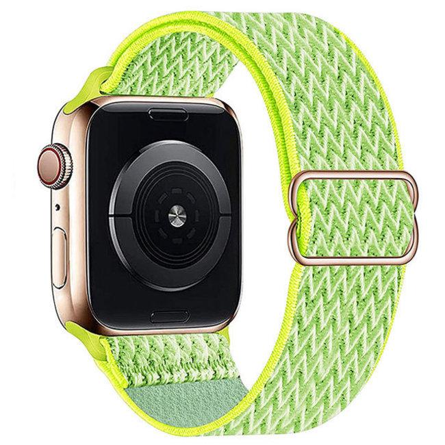 Apple watch cinturino solo in nylon - giallo