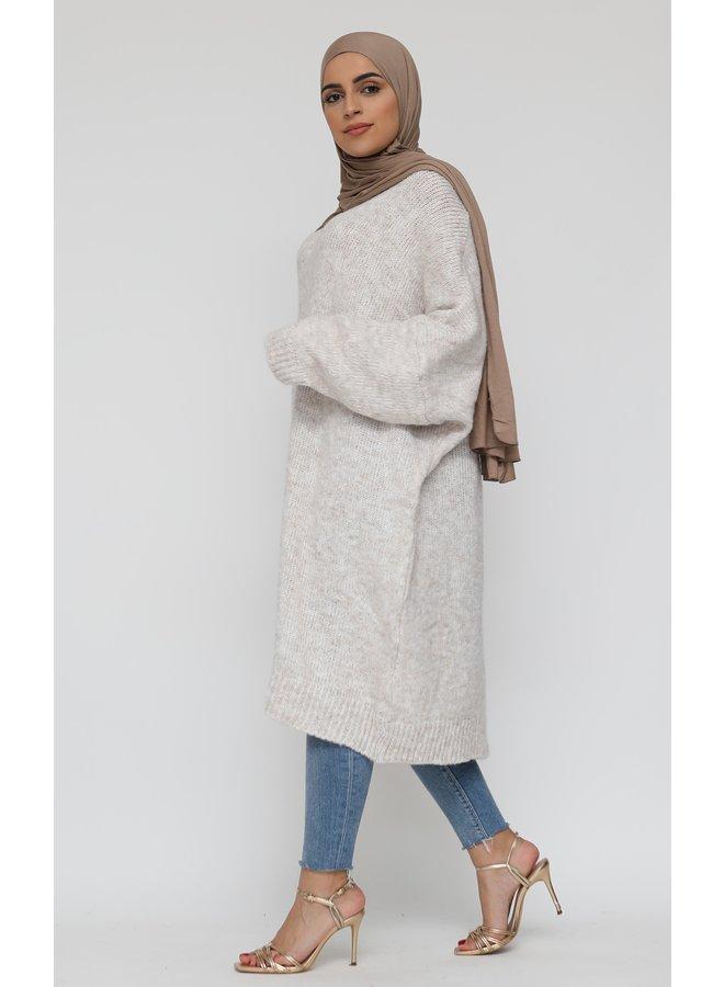 Comfy sweater XL -creme