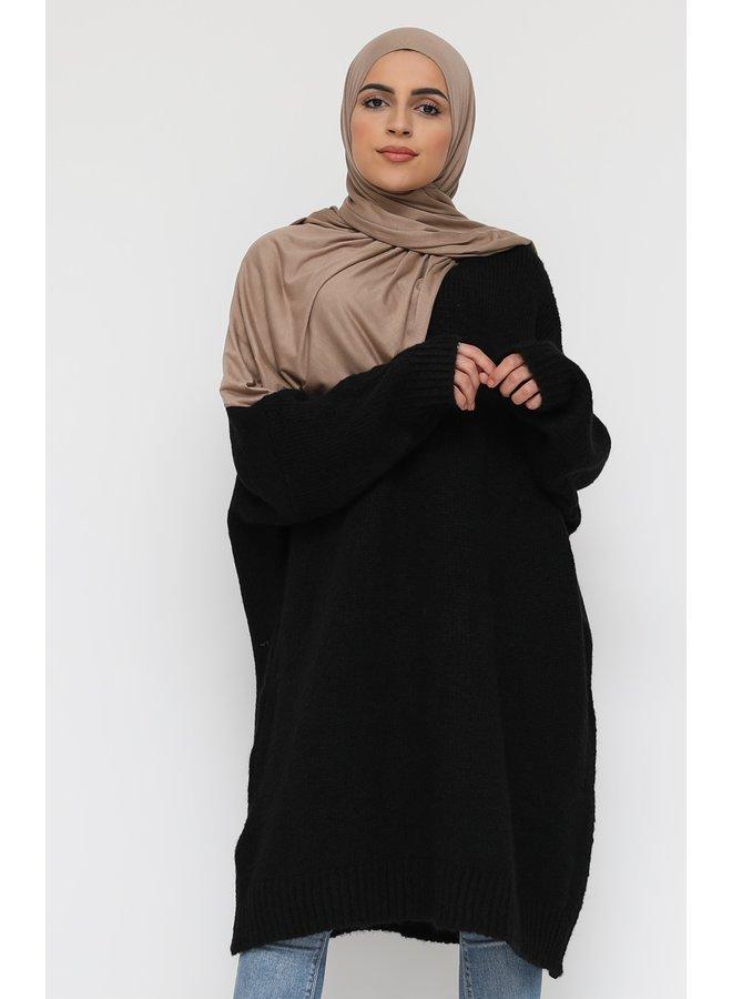 Comfy pull XL -noir