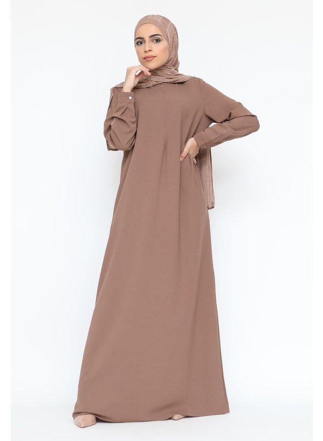 Basic abaya -mocca