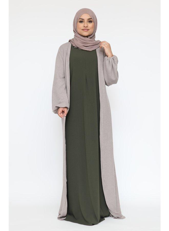 Basic abaya -vert