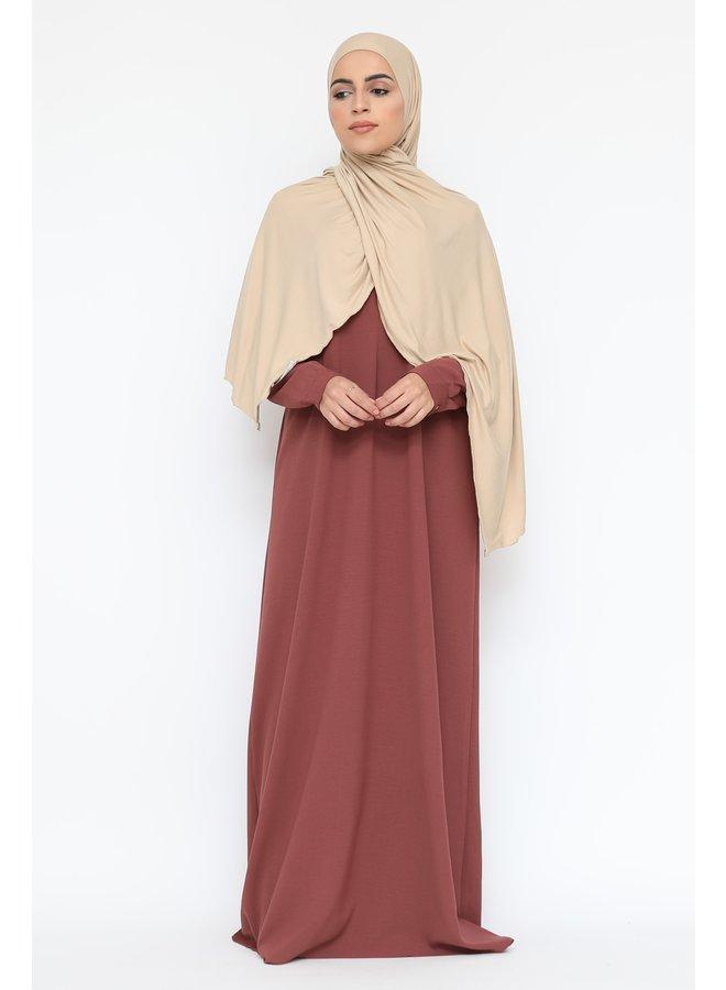 Basic abaya -rose