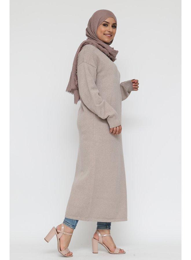 Basic pull longue -beige