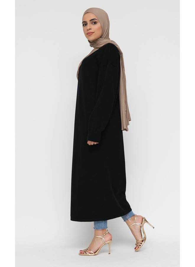 Basic pull longue -black