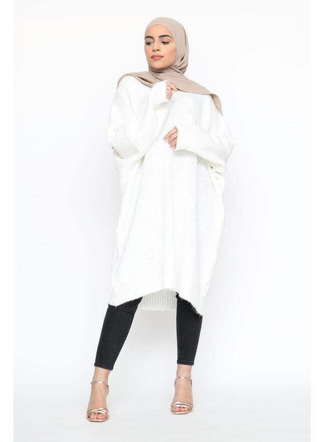 Comfy pull XL -blanc