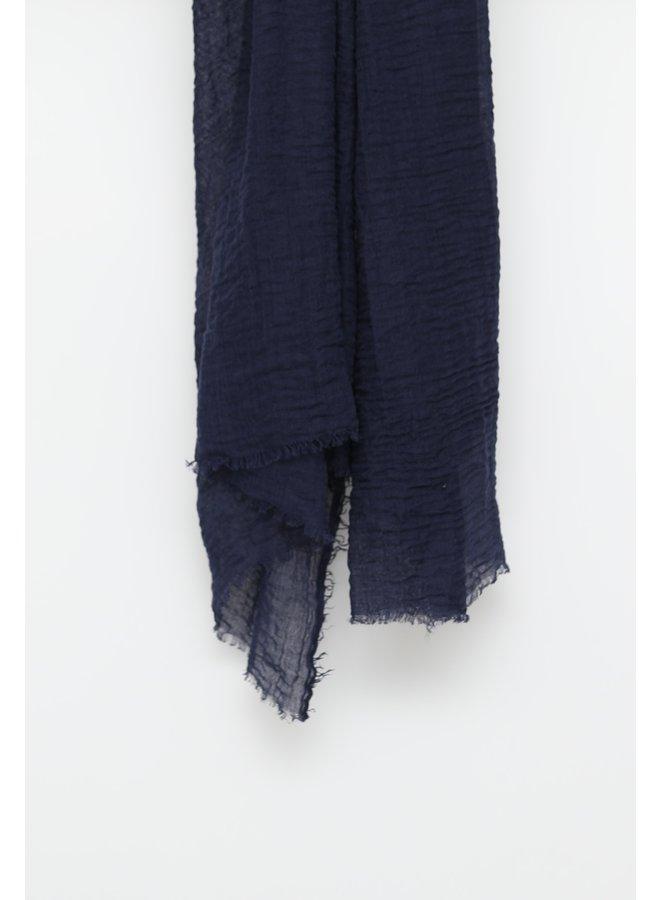 XL Skin hijaab - donkerblauw
