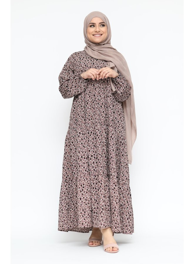 Floral robe - lila