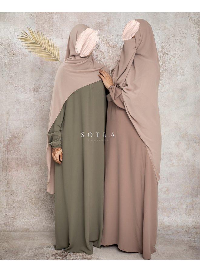 Basic Abaya Pistache