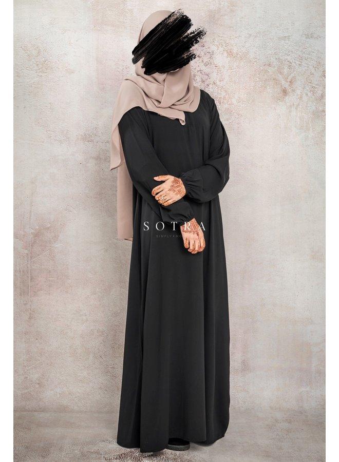 Basic Abaya Zwart